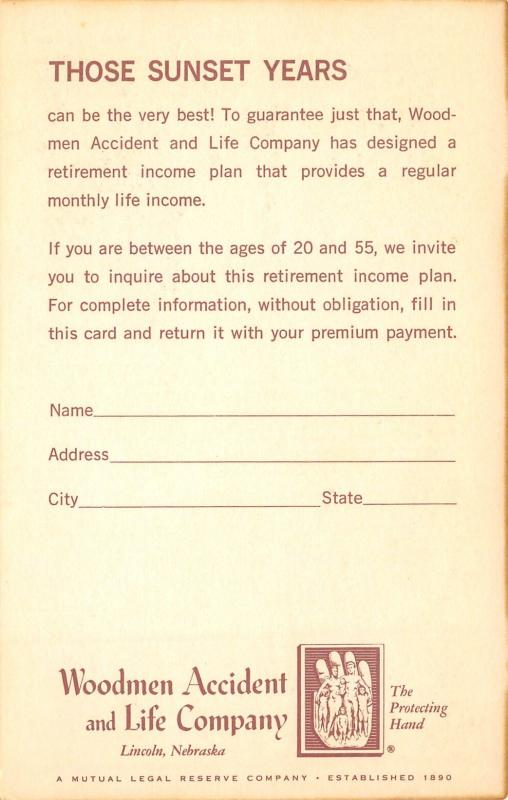 Lincoln Nebraska~Woodmen Accident, Life Insurance Co