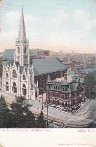 HALIFAX, Nova Scotia, Canada; St. Mary's Cathedral and Globe House, 00-10s