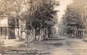 New Berlin New York South St Looking North Real Photo Postcard JJ658910