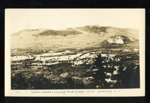 North Conway, New Hampshire/NH Glossy Postcard, View From Summit Of Mt Cranmore