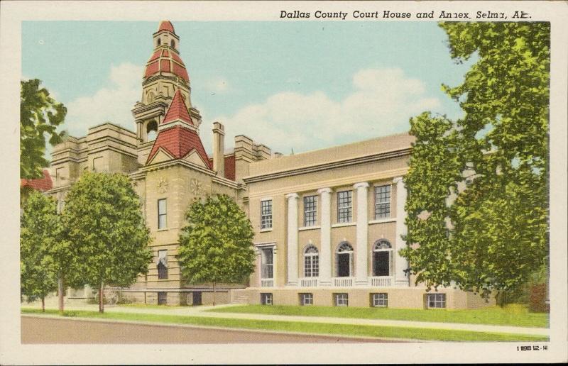 Dallas County Court House Annex Selma Alabama