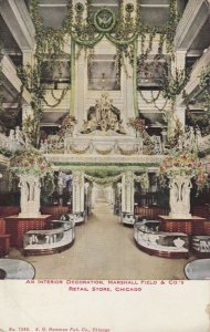 CHICAGO, Illinois, 1910; Interior Decoration, Marshall Field & Co's Retail Store