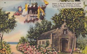 Shrine Of Nuestra Senora De La Leche Y Buen Parto Saint Augustine Florida 1948