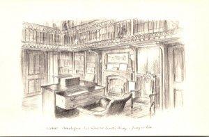 Scotland Abbotsford House Sir Walter Scott's Study