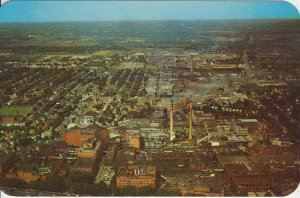 ROCHESTER NY - KODAK PARK FACTORY WORKS - 1950s view / NOW PRIVATE BUSINESS PARK