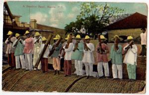 A Bamboo Band, Manila P.I.