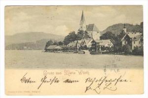 Gruss aus Maria Worth , Austria, PU-1901