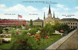 Louisiana New Orleans Jackson Square