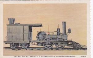 Washington D C Original John Bull Engine U S National Museum Curteich