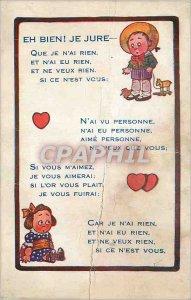 Postcard Old Well Well I Swear Paul Heckscher Paris