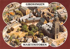 Netherlands Groningen Martinitoren Church Kirche Air view