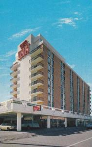 The Inn Hotel with its gift shops and full facilities, Prince George,  B.C., ...