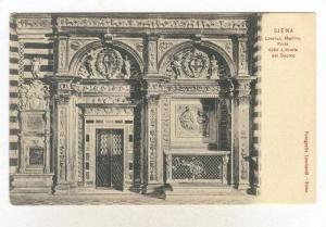 Siena, ITALY, 1890s   Lorenzo Marrina, Porta della Libreria del Duomo