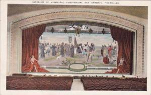 Interior Of Municipal Auditorium San Antonio Texas
