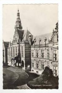 RP: Exterior of University,Groningen,Netherlands 1930-40s