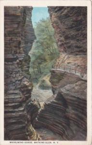 Whirlwind Gorge Watkins Glen New York Curteich