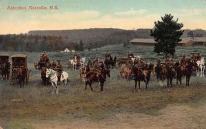Aldershot, Kentville, Nova Scotia, Canada, Early Postcard, Used in 1916