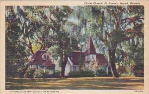 Georgia Saint Simons Island Christ Church
