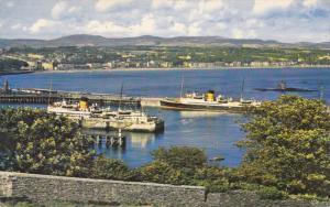 The Bay, DOUGLAS, Isle of Man, United Kingdom, Steamer Ocean Liner Ships, PU-...