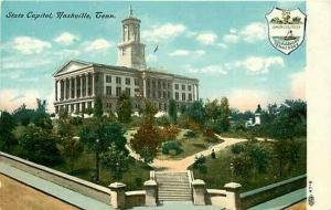 TN, Nashville, Tennessee, State Capitol, Illustrated Postal Card Co 97-5