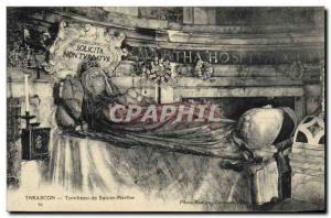 Postcard Old Death Tarascon Tomb of Saint Martha