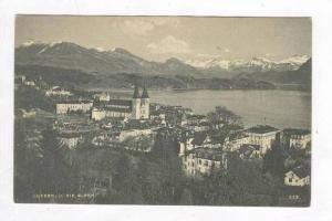 U. Die Alpen, Luzern, Switzerland, 1900-1910s