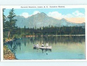 Linen NATURE SCENE Jasper British Columbia - Near Jasper Alberta AB AD4382