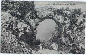 Arch Rock, Mackinac Island, Michigan MI  Chrome