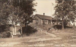 RP; CABLE , Wisconsin, 1930-40s ; Ecko Lodge , Lake Namakagon