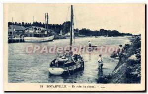 Postcard Old Boyarville A Coin Du Chenal