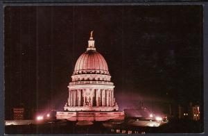 State Capitol at Night,Madison,WI
