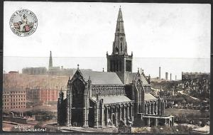 England, Glasgow Cathedral on London & Northwest Railway, mailed