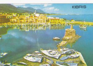 Girne (Kyrenia) , Kıbrıs (Cyprus) , 60-70s : Harbour