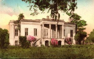 Georgia Savannah The Mansion At The Hermitage Plantation Handcolored Albertype