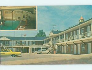 Unused Pre-1980 MOTEL SCENE Portsmouth Ohio OH HJ9531