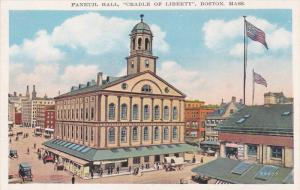 Faneuil Hall, Cradle Of Liberty, BOSTON, Massachusetts, 1910-1920s