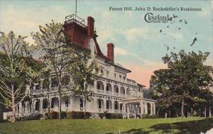 Ohio Cleveland Forest Hill John D Rockefellers Residence 1913