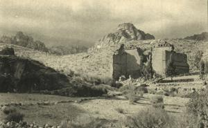 jordan, PETRA, Roman Temples and City Area (1930s)