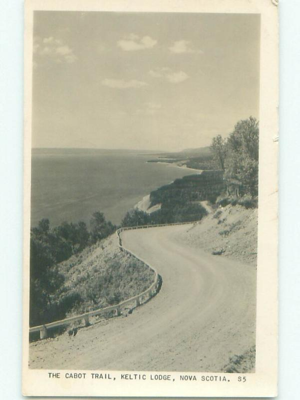 1940's rppc NICE VIEW Ingonish On Cape Bretton Island Nova Scotia NS W0978