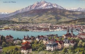 Switzerland Luzern Mit PIlatus