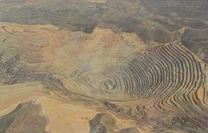 Bingham Copper Mine,  Utah,  40-60s