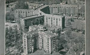 Air view,Wardman Park Hotel,Washington,DC,40-60s