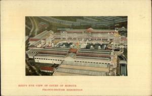 Franco-British Exhibition Birdseye c1910 Postcard