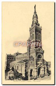 Old Postcard Basilica D & # 39Albert Side View