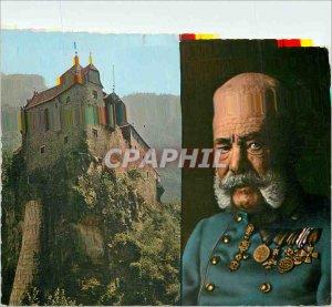 Postcard Modern Francesco Giuseppe Primo