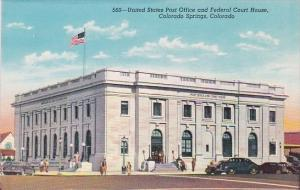 Colorado Springs United States Post Office And Federal Court House