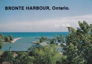 BRONTE HARBOUR, Ontario, Canada, PU-1984; Aerial View
