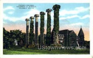 Historic Columns Columbia MO Unused