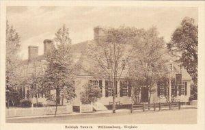 Raleigh Tavern Williamsburg Virginia Albertype