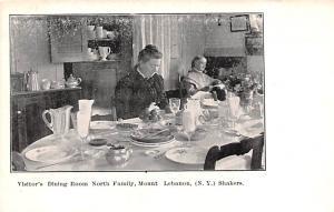 Shaker Postcard Mt. Lebanon, New York USA, Old Vintage Antique Visitors Dinin...